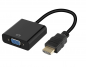 Preview: HDMI auf VGA Adapter Kabel mit Ton