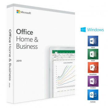 Office 2019 Home & Business Key für 1 Windows PC oder 1 Mac (Sofort Download)