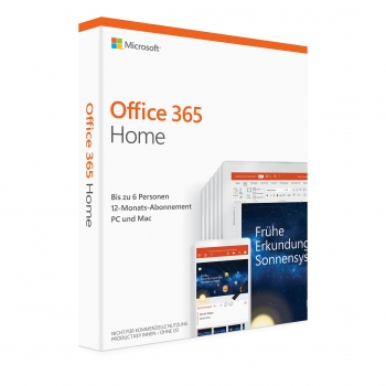 Microsoft Office 365 Home 6 PC oder Mac (Sofort Download)