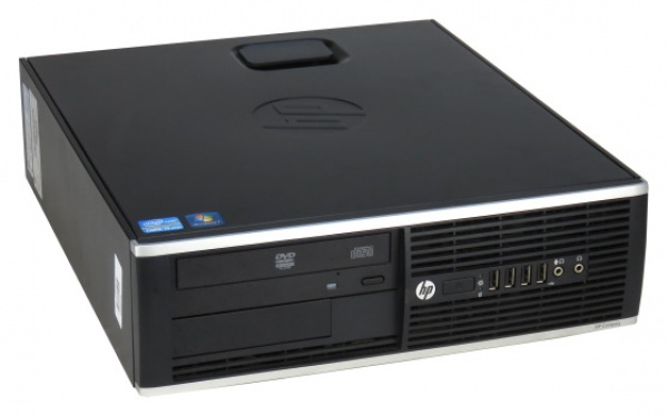PC HP Compaq 8200 Elite SFF (i5-2400, 8GB RAM, 160GB SSD, Win 10 Pro) - Occasion