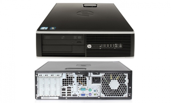 PC HP Compaq 8200 Elite SFF (i5-2400, 8GB RAM, 120GB SSD, 250GB HDD, WLAN, Win 10 Pro) -  Occasion​