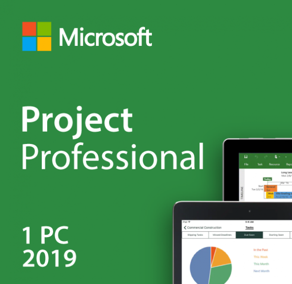 Microsoft Project 2019 Professional Key (Sofort Download)