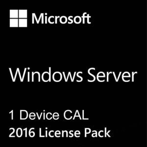 Microsoft Windows Server 2016 1 Device CAL R18-05189 (Box Version mit Echtheitszertifikat)