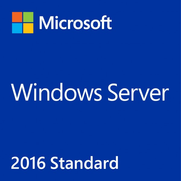 Windows Server 2016 Standard Key + 10 CAL